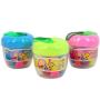 Jingjing 14 Colour Modeling Clay Play Dough Apple Shape Box Pack