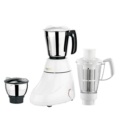 Butterfly Ivory Plus 750-Watt Mixer Grinder with 3 Jars