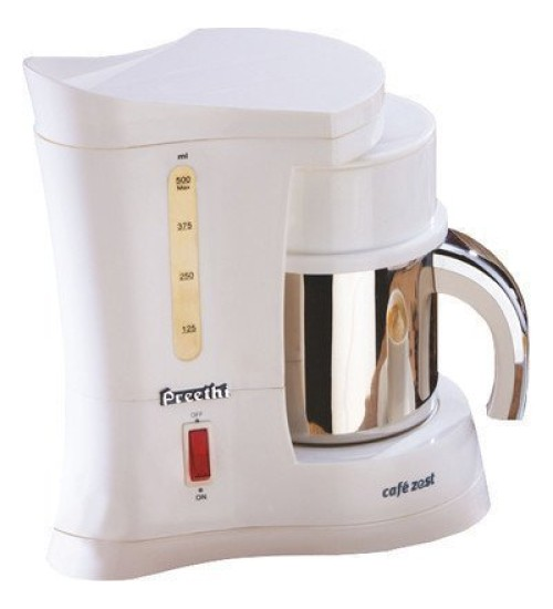 Preethi CM 212 450-Watt Cafe Zest Coffee Maker (White)