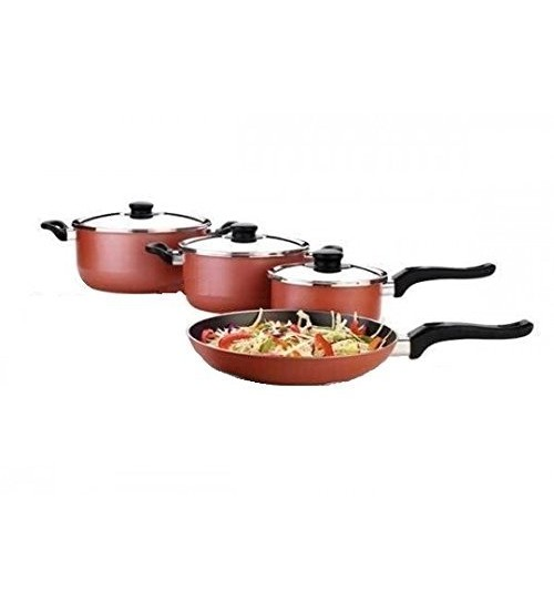 Premier Non-Stick Cookware - 7 Pcs Gift Set