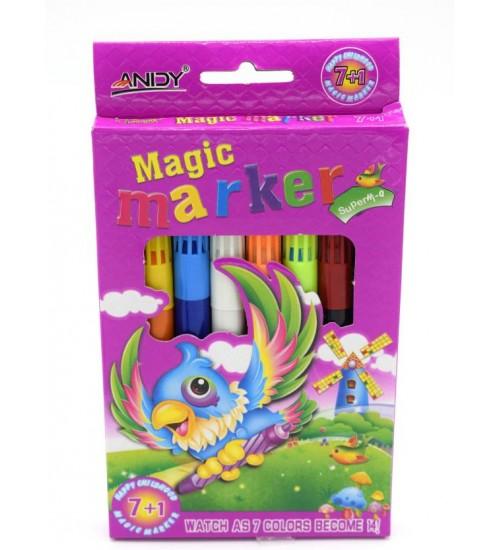 Magic Marker Super Nib Sketch Pen  (Multicolor)