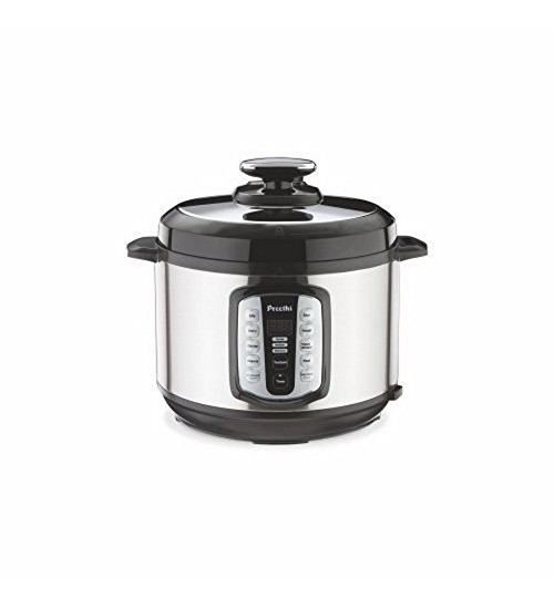 Preethi Touch EPC004 5-Litre Electric Pressure Cooker (Steel/Black)