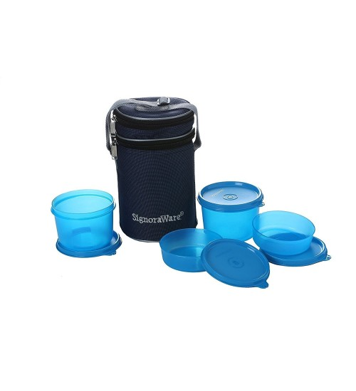 Signoraware Executive Lunch Box with Bag, 15cm