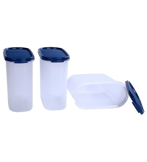 Signoraware Modular Oval No.3 Container Set, 1.7 Litres, Set of 3