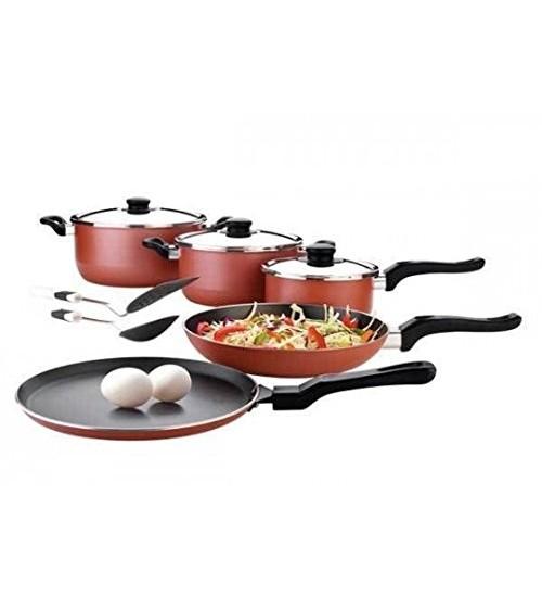 Premier Non-Stick Cookware Gift Set 10 Pcs Gift Set