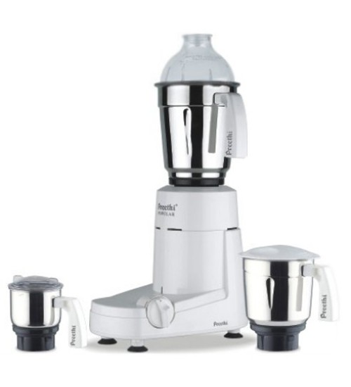 Preethi Popular MG 142 750-Watt Mixer Grinder with 3 Jars