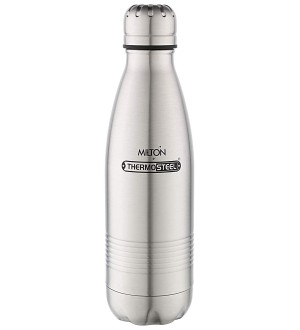 Milton Thermosteel Duo Deluxe, 500ml, Steelplain