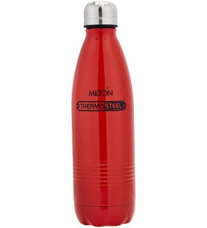 Milton Thermosteel Duo Deluxe, 750ml, Red